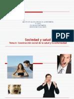 Tema 6. Construccion Social de La Salud