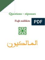 Questions - Réponses - Fiqh Mâlikiyy