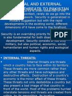 Internal and External Security Threats to Pakistan (1)