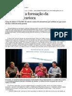 Em debate, a formação da identidade carioca