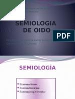 Semiologia Oido