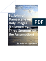 Holy Images. St. John Damascene