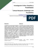 Investigación crítica