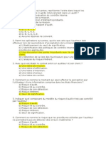 Examen QCM D_audit