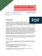 El Método Bayesiano en La Investigación Médica