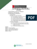 Informe de Topografia Nuevo Cutero