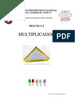 Práctica Multiplicador