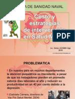 CLA 4 Costo y Estrategias de Intervención en Salud Mental