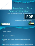 TDL Compliance -- the City of Appleton Case Study