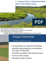 Targeting Practices -- Lesson from the Pecatonica River Watershed