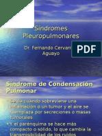 042- Sindromes Pleuropulmonares Condensacion y Derrames