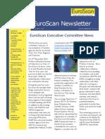 Euro Scan Newsletter Issue 17
