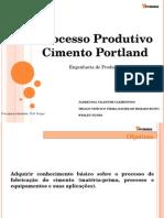 Processo de Fabricação de Cimento 2015