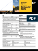 Telehandlers CAT TL642