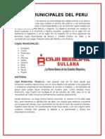 Cajas Municipales Del Peru