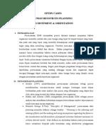 Studi Kasus Kegiatan Rekrutmen dan Orientasi di Industri Perhotelan