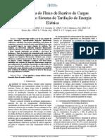 A Influência Do Fluxo de Reativo de Cargas ISSN 2177-6164
