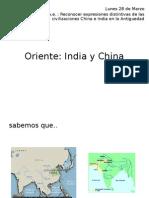 Oriente India China