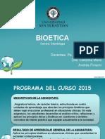 Clase 1_ Introductoria Bioetica