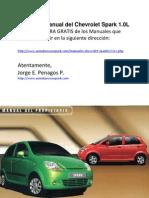 Manual Gratis Chevrolet Spark 1000
