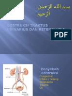 Obstruksi Traktus Urinarius Dan Retensi Urin