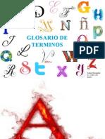 Glosario de Términos Gabriel Hernández