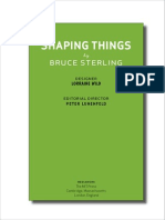 Bruce Sterling-Shaping Things (Mediaworks Pamphlets)-The MIT Press (2005)