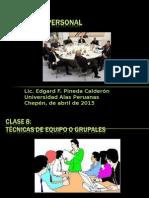 CLASE 8 Gestion de Personal