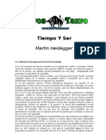 Heidegger Martin - Tiempo Y Ser