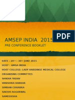 Pre Amsep Booklet