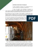 Construccion de Tuneles FCA