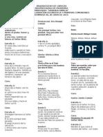 Eucaristía de Primeras Comuniones 2014-2015
