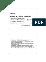 11 Endocrino Generalidades .Hipotalamo Hipofisis