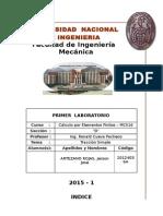 Lab 01 - Elementos Finitos Mc516 d
