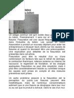 Fissuration Du Béton1