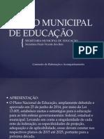 Pré Conferencia Plano Municipal de Educação