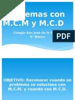 Problemas con MCM y MCD
