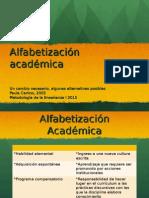 Alfabetización Carlino 2003