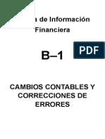 NIF B9 B13