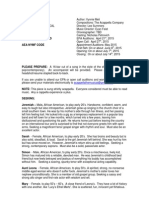 Acappella Casting Notice 04-03-15