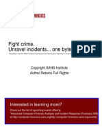 An Exercise in Practical Computer Forensic Analysis