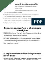 Espacio Geográfico en La Geografía Marcos