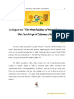 171 the Possibilities of Paraphrase in the Teaching of Literary Idiom