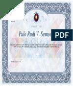 Robo Mind Academy Diploma 2