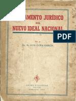 Fundamento Juridico del Nuevo Ideal Nacional