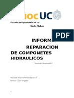 informe de reparacionde compoentens hidraulicos.docx