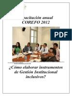 Cómo Elaborar Instrumentos de Gestión Institucional Inclusivos