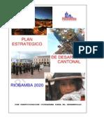 Riobamba 2020 Plan Estrategico