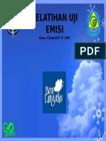 Pelatihan Uji Emisi