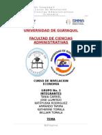 Papel Del Gobierno en La Economia Ecuatoriana